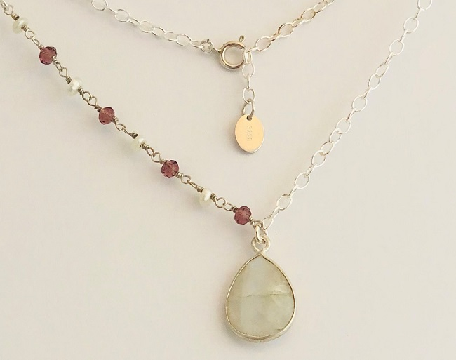 Click to view more Moonstone Necklaces