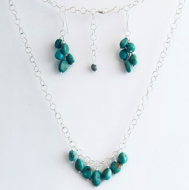 Click to view more Turquoise Jewelry Sets