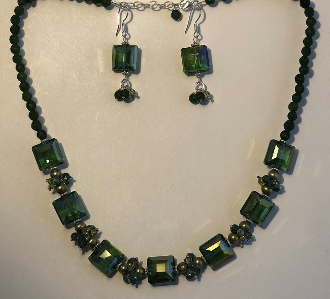 Click to view more Moldavite Jewelry Sets