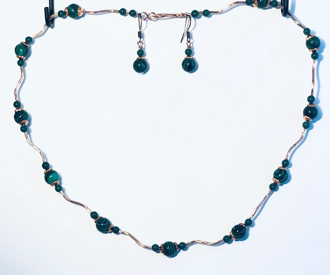 Click to view more Malachite Jewelry Sets